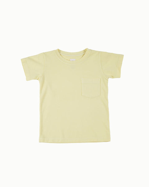 Cotton Tee in Sun Yellow