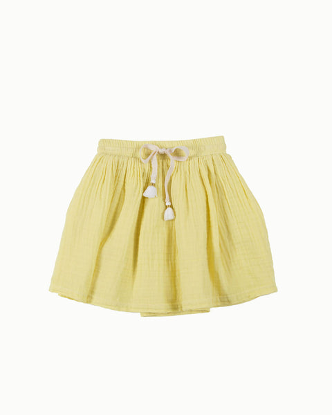 Tassel Skirt in Sun Yellow