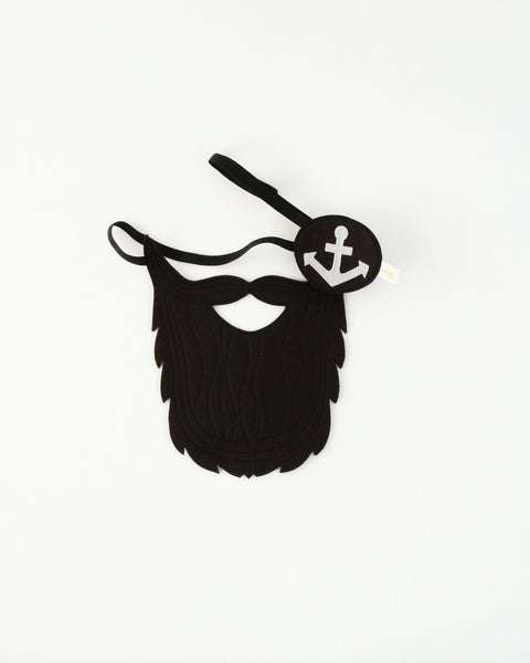 Pirate Beard & Eye Patch Set
