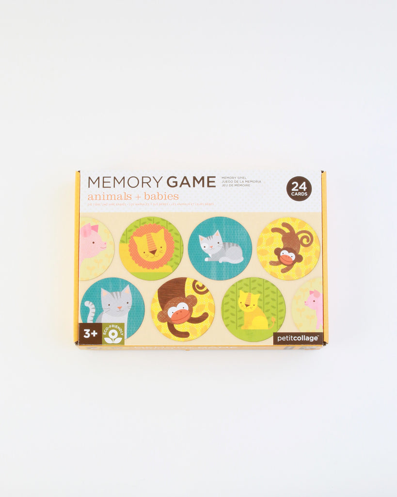 Animals and Babies Memory Game