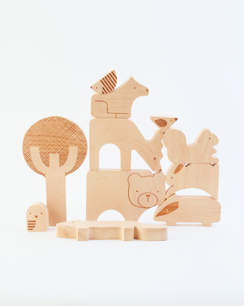 Forest Friends Wood Puzzle