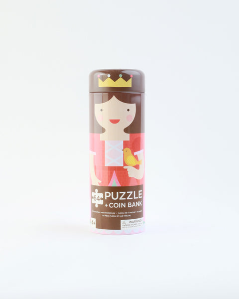 Royal Castle Tin Canister Puzzle