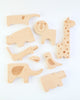 Safari Jumble Wood Puzzle