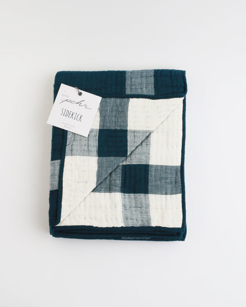Sidekick Blanket in Navy