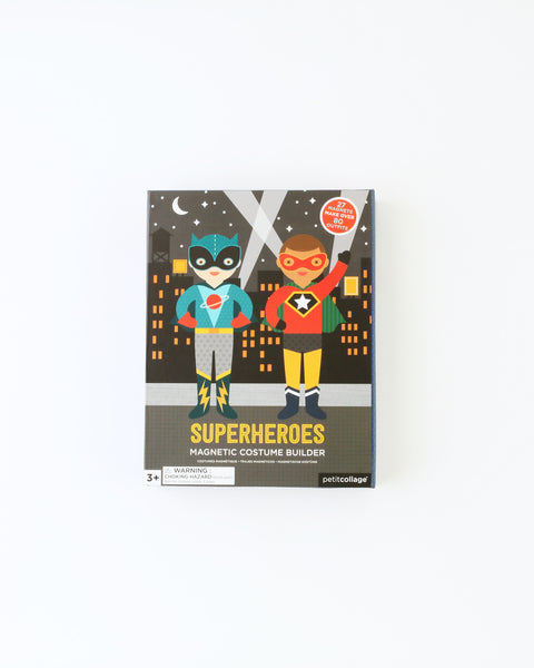 Superhero Magnetic Costume Builder