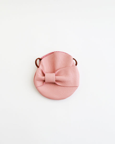 Mini Voyager Purse in Rose Quartz
