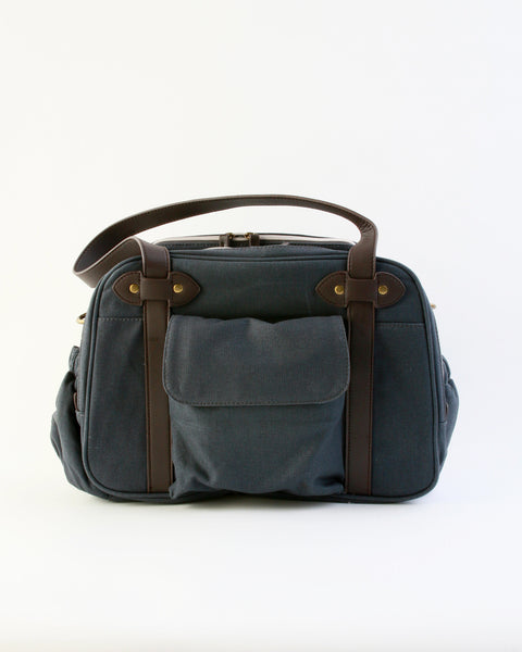 Charlie Diaper Bag in Slate