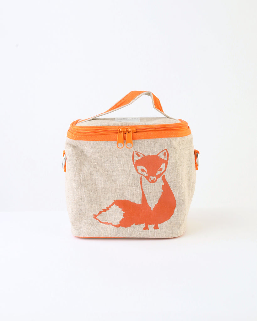 Small Cooler Bag — Orange Fox