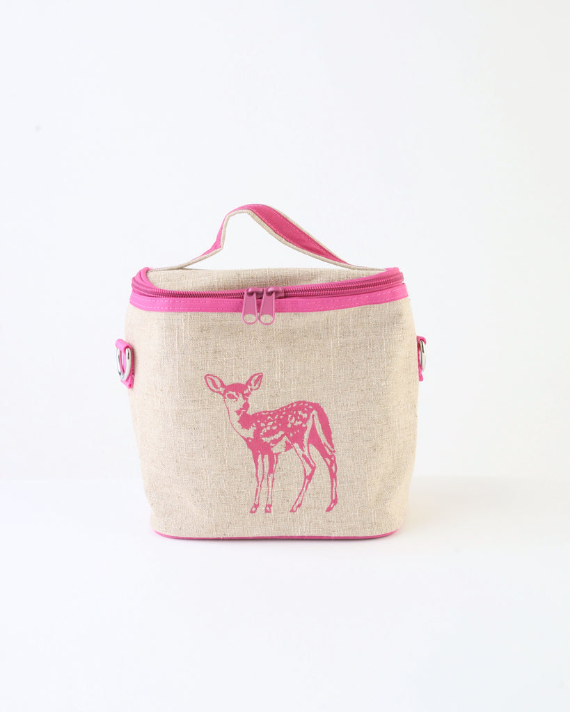 Small Cooler Bag — Pink Fawn