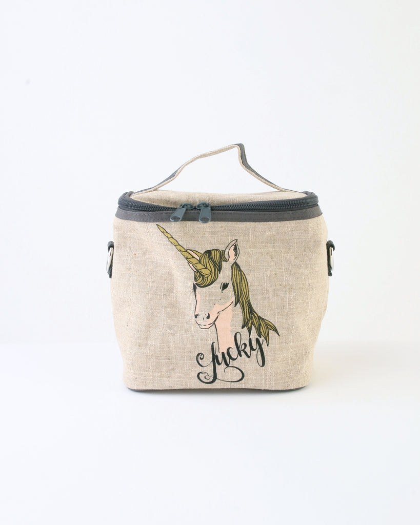 Small Cooler Bag —  Lucky Unicorn
