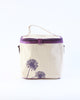 Small Cooler Bag - Purple Dandelion