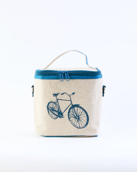 Small Cooler Bag - Blue Bicycle
