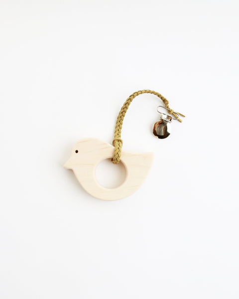 Wood Bird Teether