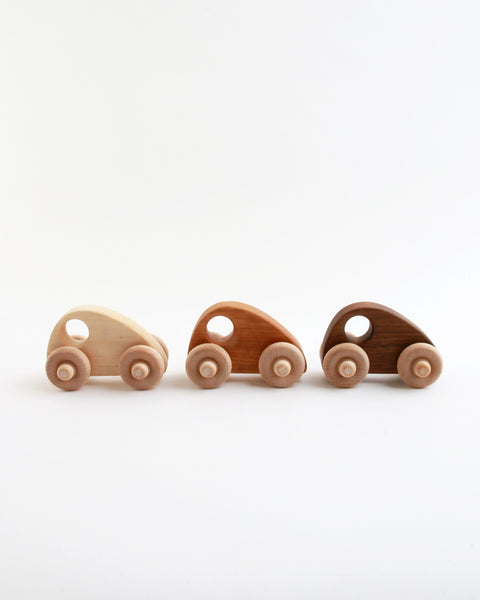 Wood Mini Racer Cars