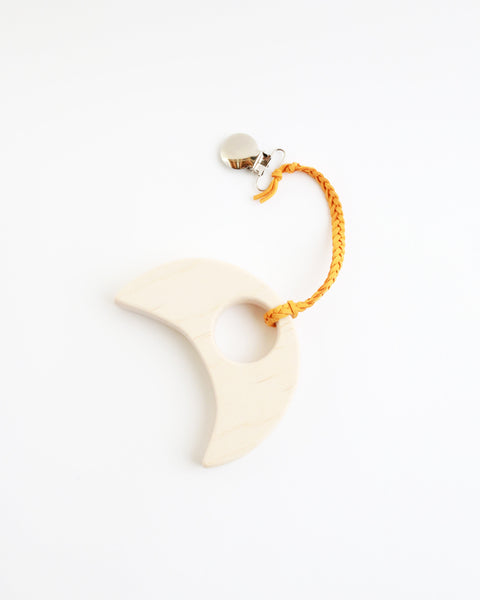 Wood Moon Teether