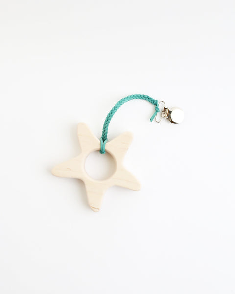 Wood Starfish Teether