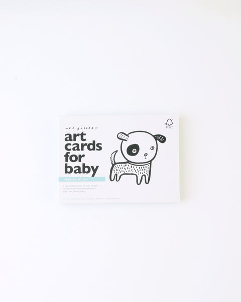 Baby Art Cards - Pets