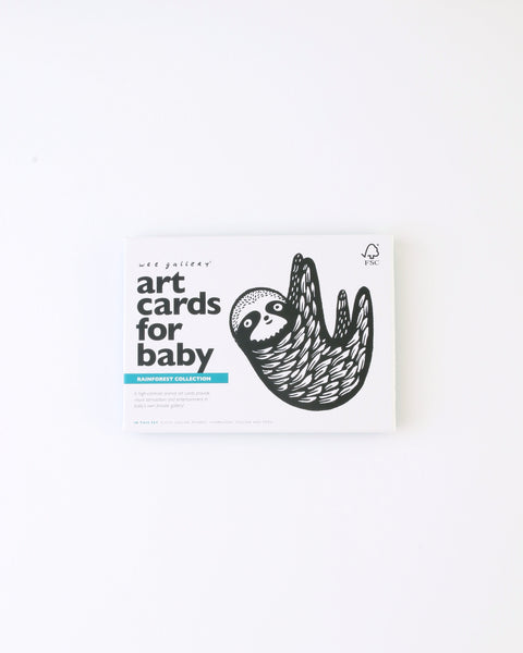 Baby Art Cards - Rainforest