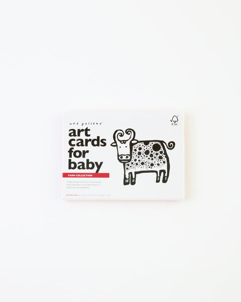 Baby Art Cards - Farm