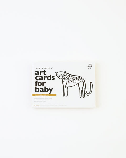 Baby Art Cards - Safari