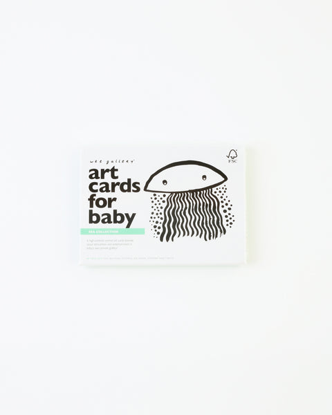 Baby Art Cards - Sea