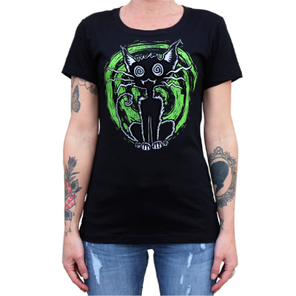 Black Cat lovers t-shirts for Girls Witches and Women
