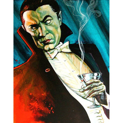Buy Painting of Bela Lugosi as Dracula | Moodswings Inc