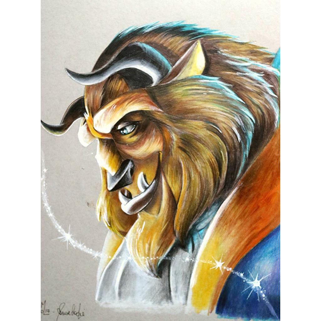 The Beast by Manuela Lai Rolled Canvas Art Giclee Print
