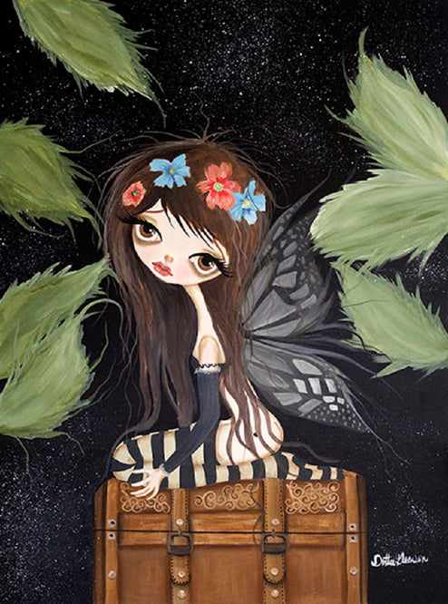 Brucie the Fairy by Dottie Gleason Rolled Canvas Art Giclee Print