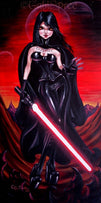 Come To The Dark Side by Gabi Spree Unstretched Canvas Art Print