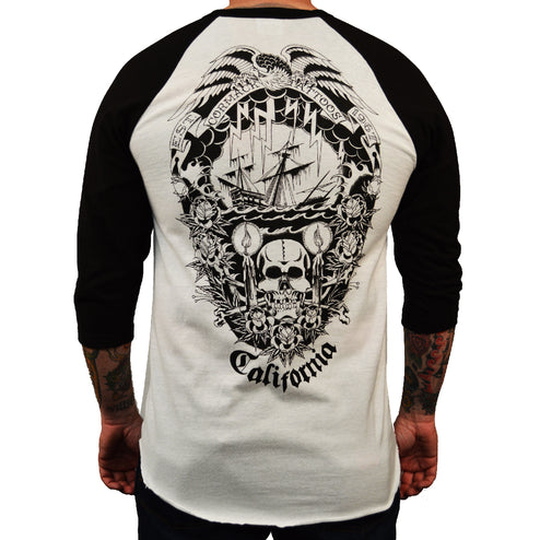 american clothing old school skull traditional tee shirt shop best artwork original unique long beach alternative retro vinta