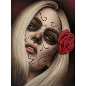La Muerta by Spider Rolled Canvas Art Giclee Print