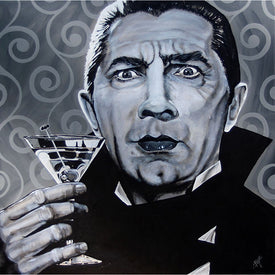 Buy Monster Art for Home Bar Dracula | Moodswings Inc