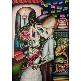 For Your Precious Love by Dave Sanchez Mexican Canvas Wall Art Print