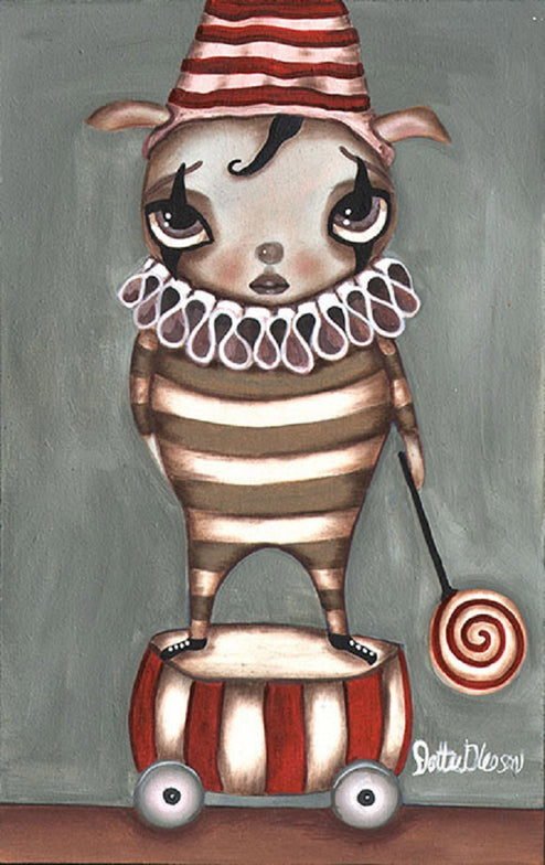 Francios by Dottie Gleason Rolled Canvas Art Giclee Print