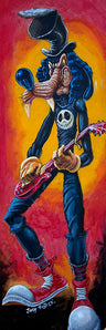 Goofy Slash by Joey Rotten Rolled Canvas Art Giclee Print