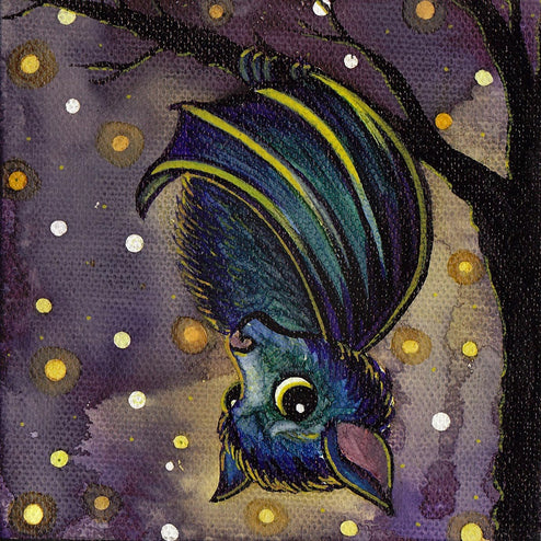 Bat by Brittany Morgan Paper Rolled Art Unframed Giclee Print