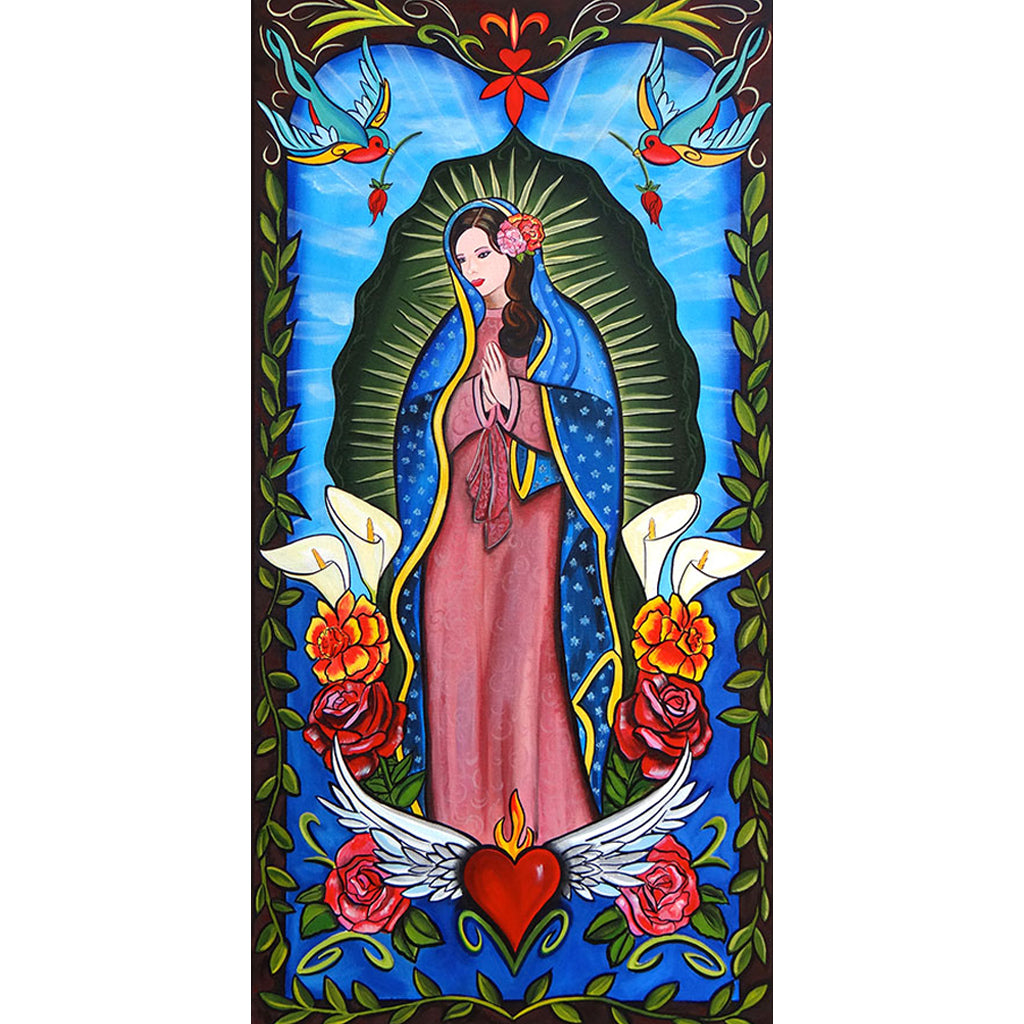 Lady of Guadalupe by Melody Smith Unframed Canvas Fine Art Print