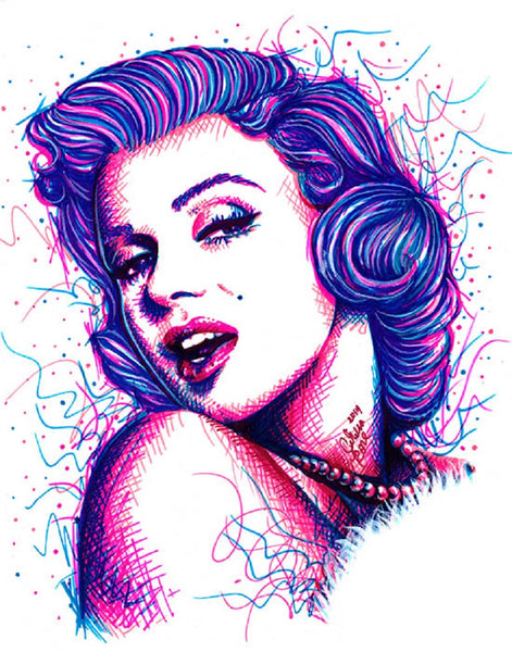 Long Live the Legend by Carissa Rose Marilyn Monroe Canvas Art Print