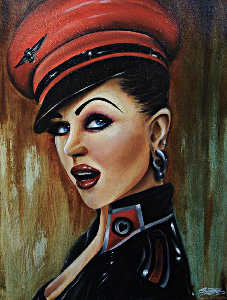 Love Pilot by Siege Rolled Canvas Art Giclee Print
