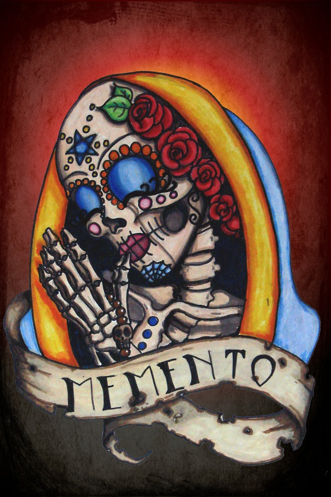 Memento II by Shayne of the Dead Bohner Rolled Canvas Art Giclee Print