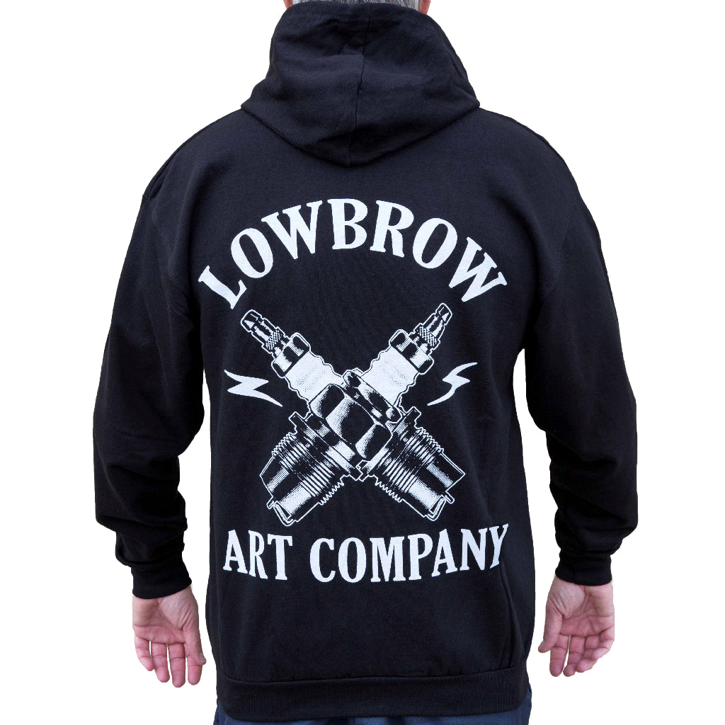 hot-rod chopper tattoo sweatshirt street-wear