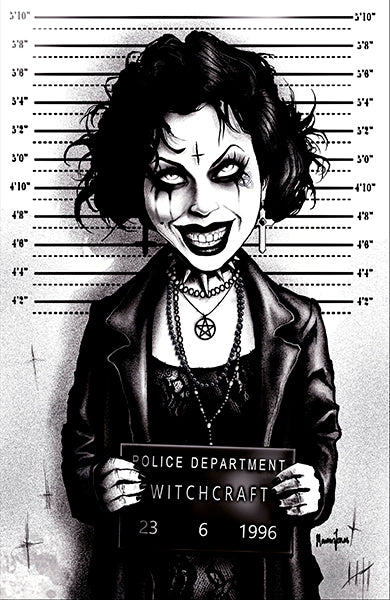 Nancy by Marcus Jones Mugshot The Craft Unstretched Canvas Art