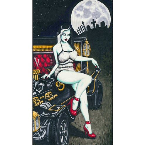 tv show surfing rat man-cave race-car sexy gothic classic monster halloween wall work cool painting home décor fine best high