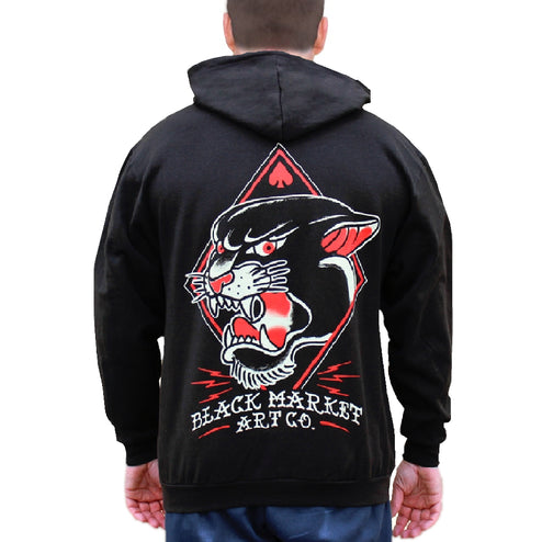 Cool Old School Tattoo Hoodies for Men