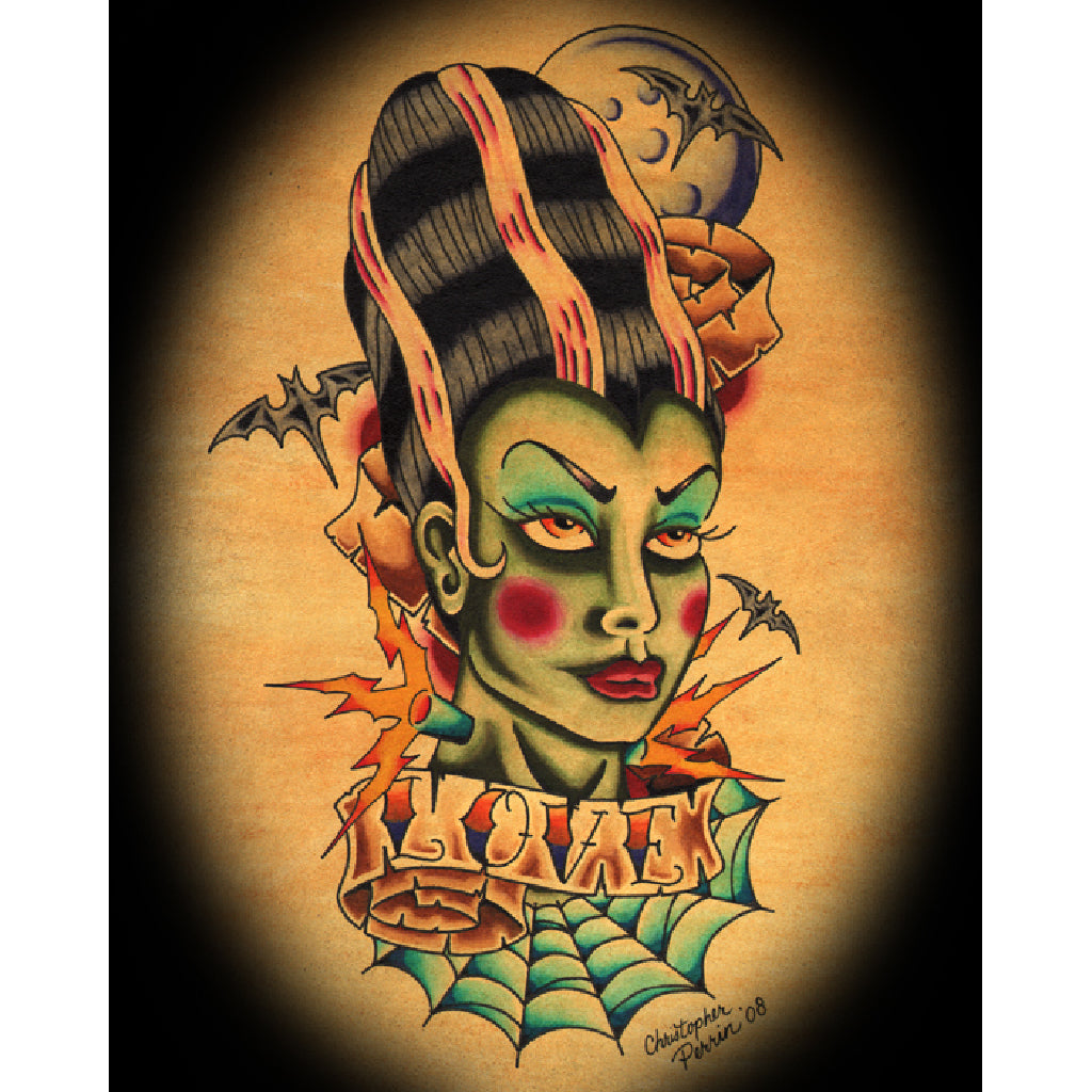 gothic classic monster halloween wall work cool painting home décor fine best flash design high quality made usa usa decorati