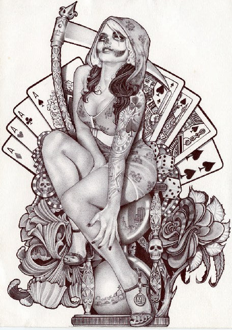 paintings sketches sketch art tattoo artists prison artists painting traditional tattoo flash designs color artwork artist bl