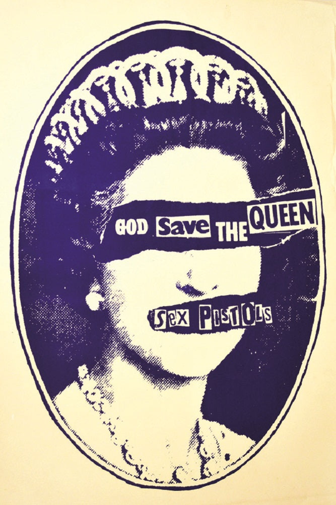Save the Queen by Rolled Canvas Art Giclee Print