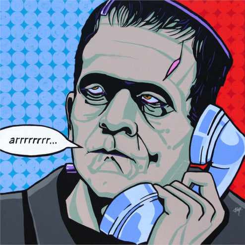 Buy MCM Frankenstein Art Paintings | Moodswings Inc