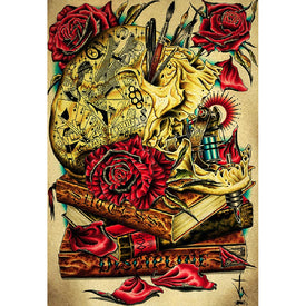 Art for Artists Unframed American Traditional Tattoos
